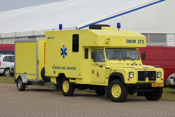 Royal Dutch Navy Landrover ambulance