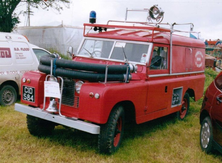 1960's Landrover Series 2a - Fire Appliance