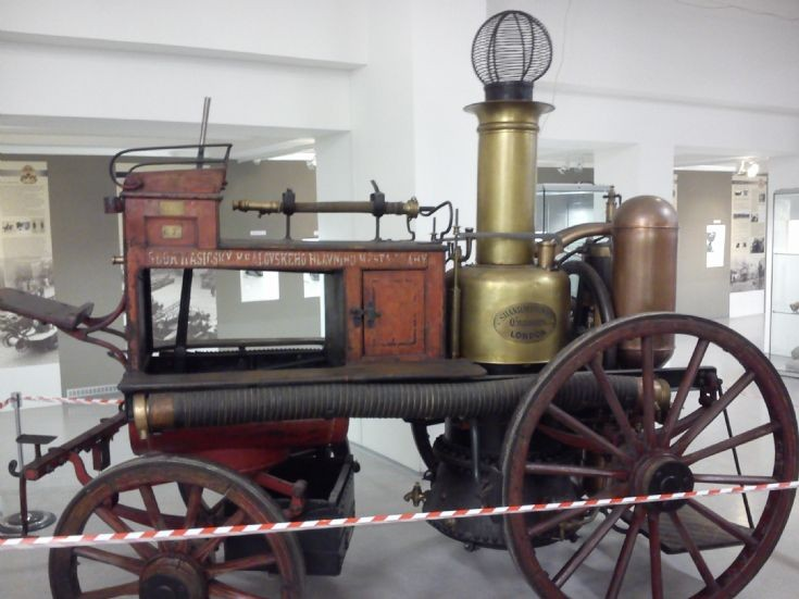 Shand, Mason & Co - Horsedrawn Fire Engine
