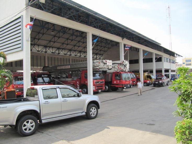 Pattaya Central Fire Brigade Station, Thailand.