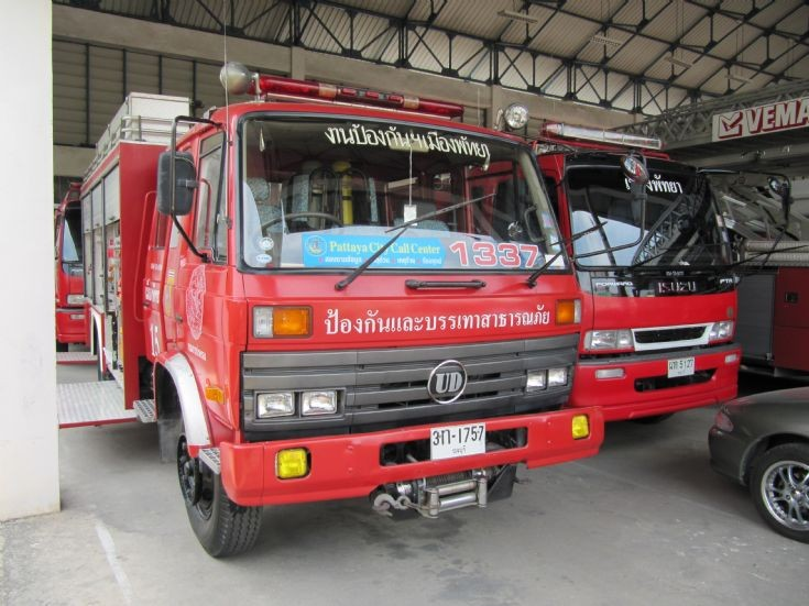 Pattaya Central Fire Brigade Stn, Thailand.