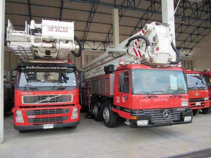 Pattaya Central Fire Stn, Thailand.