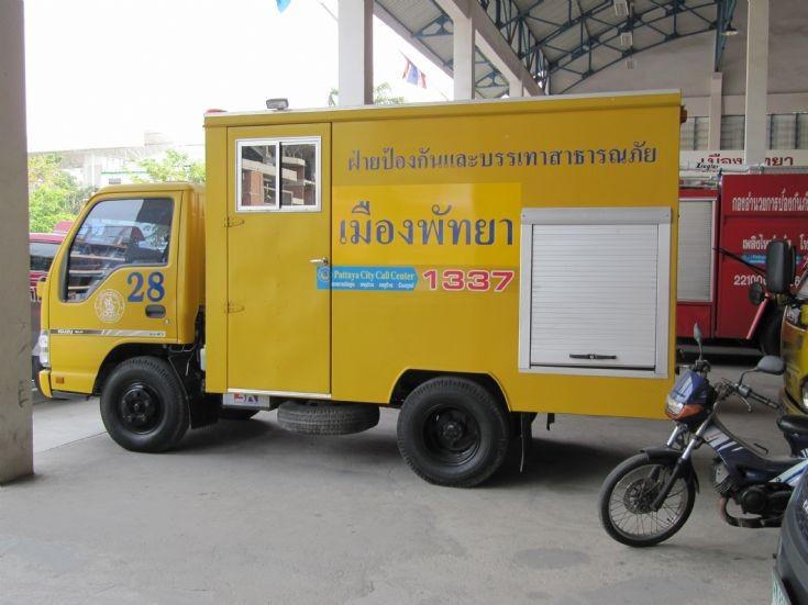 Pattaya Central Fire Station, Thailand.