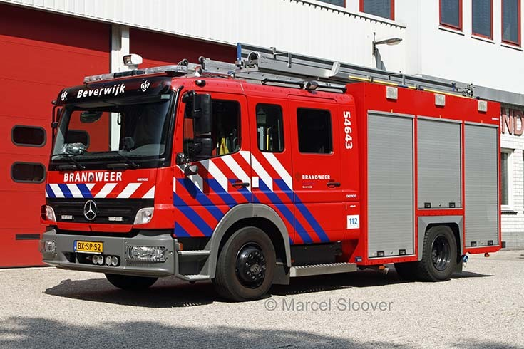 Brandweer Beverwijk Mercedes BX-SP-52