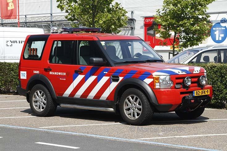 Brandweer Beverwijk LandRover Discovery
