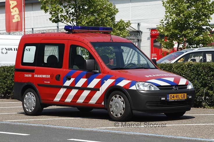 Opel Combo Brandweer Beverwijk