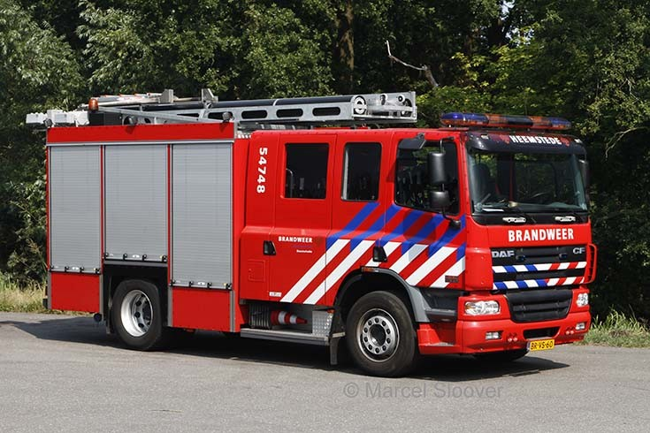 Fire Engines Photos - Brandweer Heemstede DAF CF