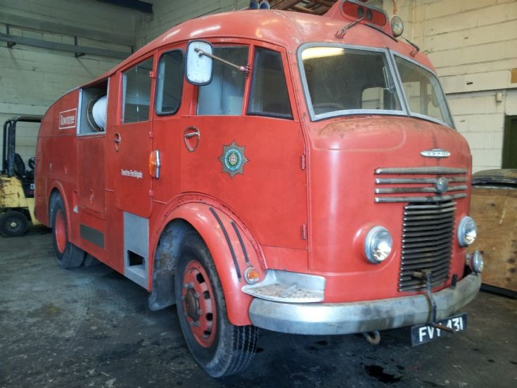 Rowntree's of York fire tender
