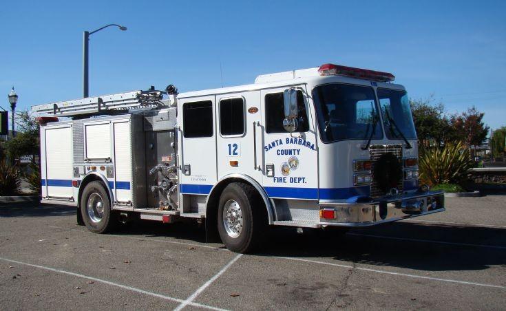 Santa Barbara County FD Engine 12