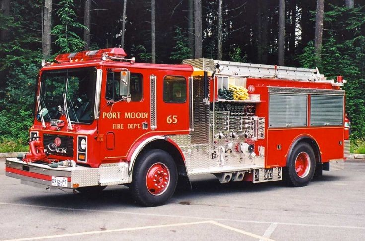 Port Moody Mack MC pumper
