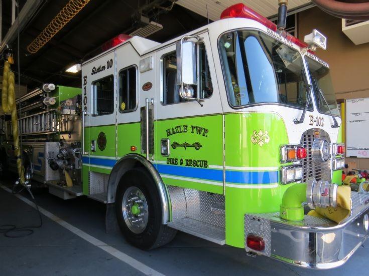 Hazle Twp., Pa Fire Dept. Pumper KME