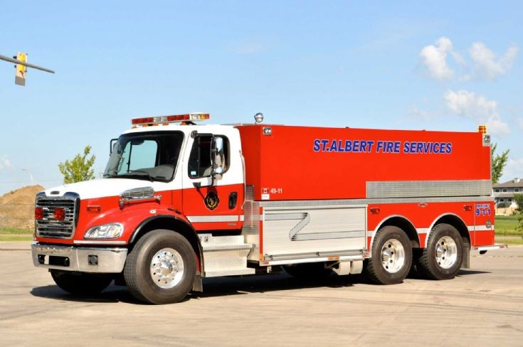St Albert Fire Services tender
