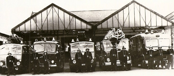 Plaistow Fire Station 1960s West Ham Fire Brigade