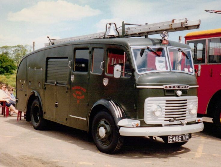 1954 Commer QX Fire Appliance
