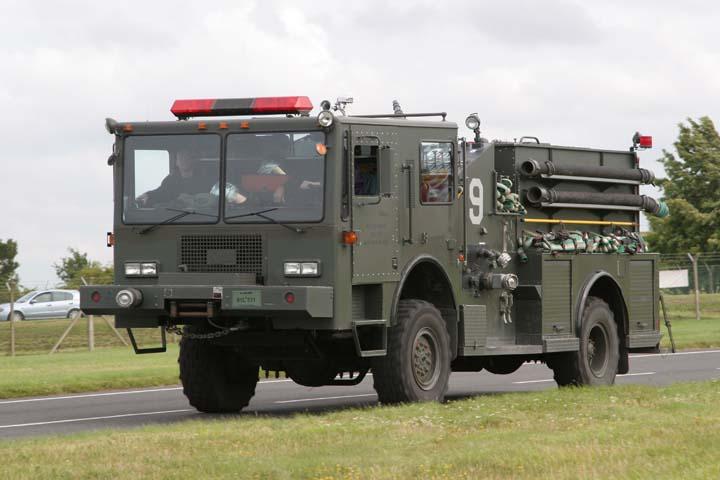 US Air Force Fire department RAF Fairford