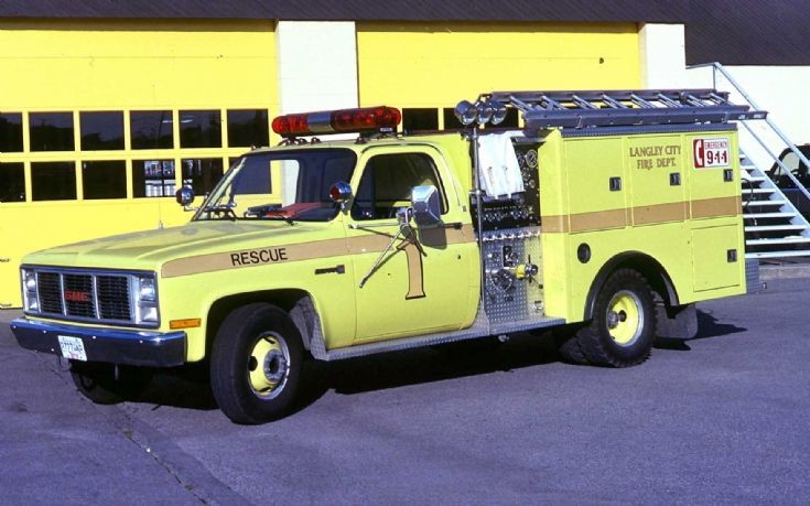 Langley City Fire Dept. small pumper