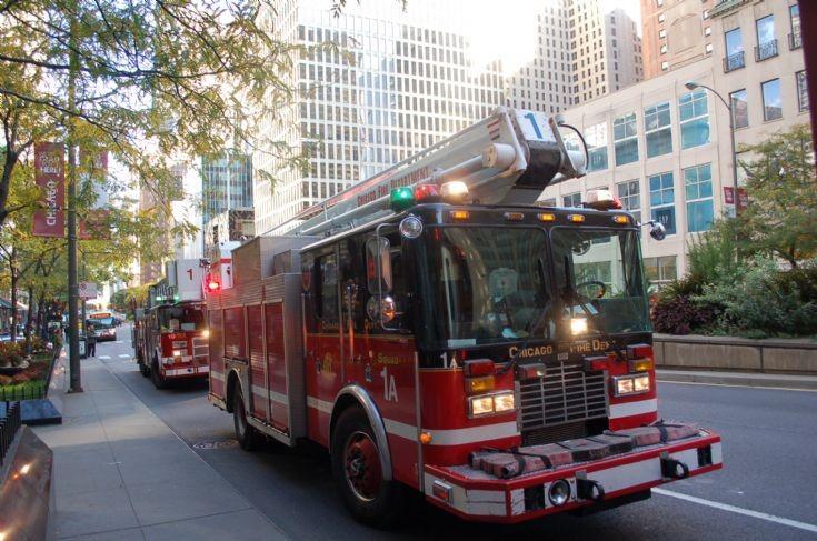 Squad 1A, Michigan Ave, Chicago