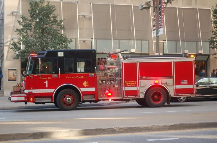 Engine Co 1, Michigan Ave, Chicago