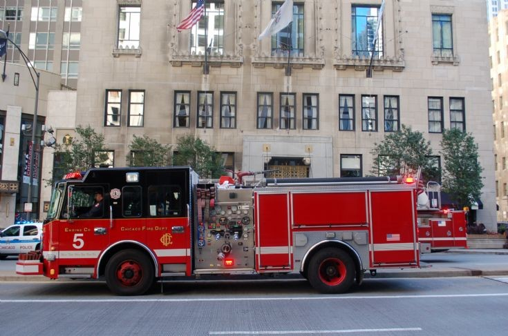 Engine Co 5, Michigan Ave, Chicago