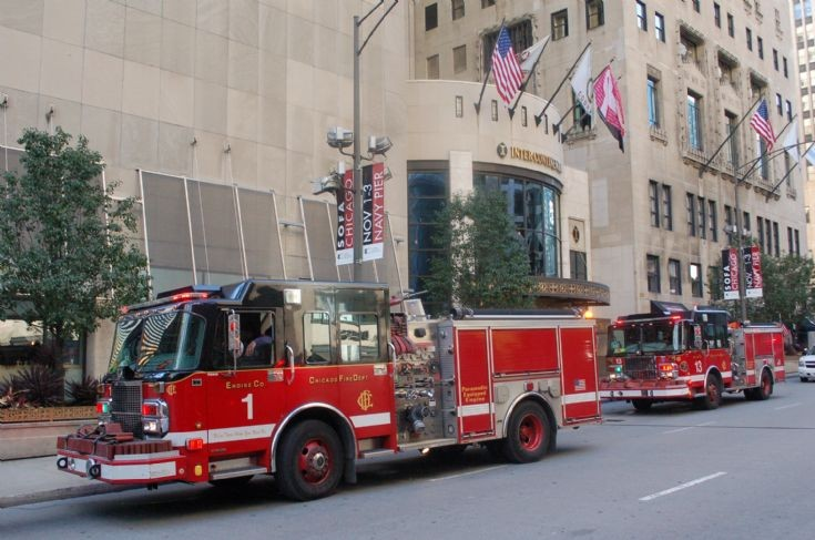 Engine Co 1 & 13, Michigan Ave, Chicago