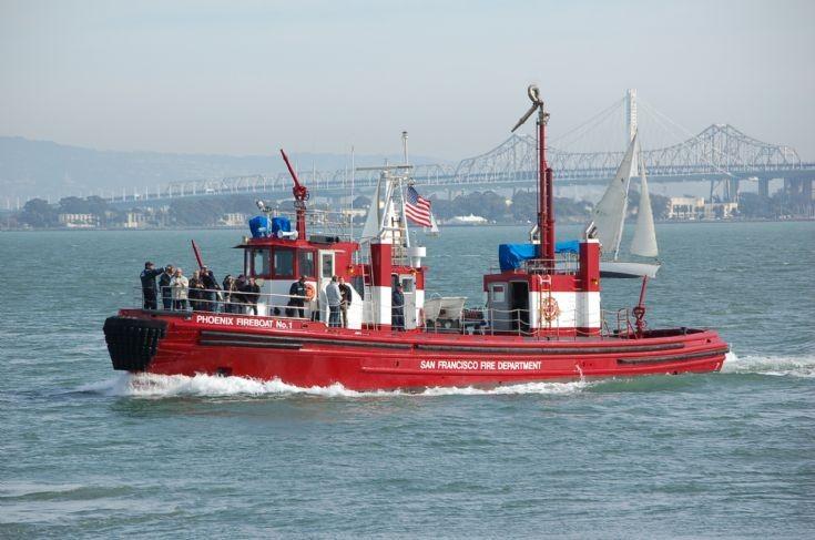 Phoenix Fireboat No 1, San Francisco