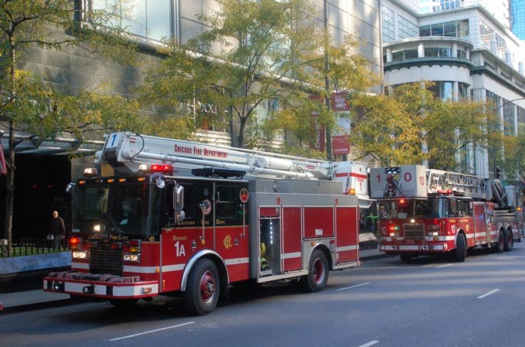 Squad 1A & Truck 10 Michigan Ave, Chicago