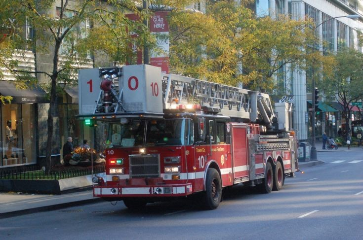 Truck Co 10, Michigan Ave, Chicago