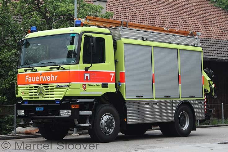 Kloten Rescue truck
