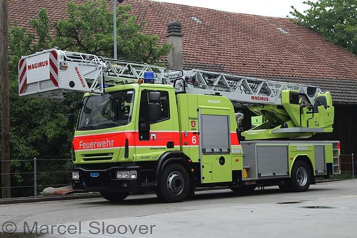 Ladder of Kloten Feuerwehr