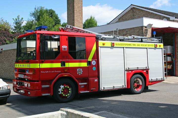 Spare Dennis at Stroud Fire station