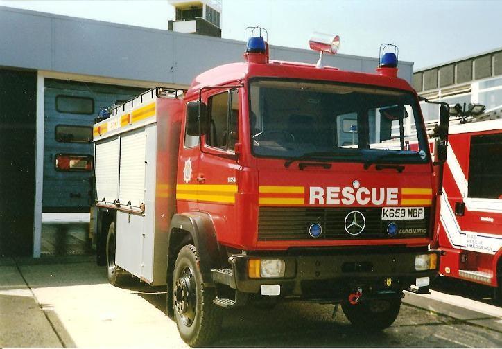 Mercedes/JDC HRU West Sussex K659MBP