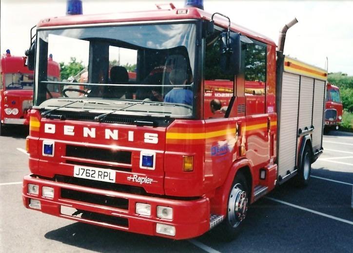 Dennis Rapier WrL Fire Service College J762RPL