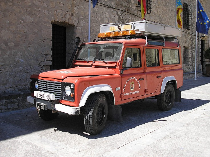 Spain Bomberos Alicante Land Rover