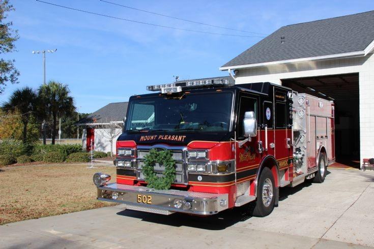 Mt. Pleasant, South Carolina Engine 502