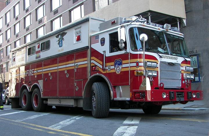 fdny rescue 1. FDNY -- Rescue 1 (Manhattan)