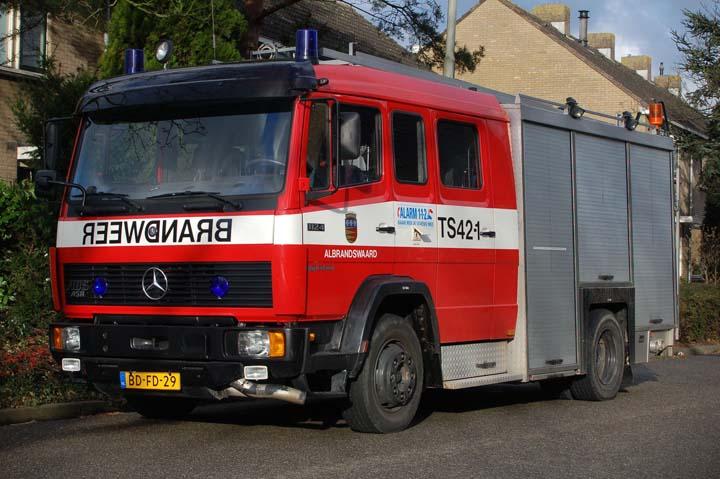 Brandweer Albrandswaard Mercedes Watertender