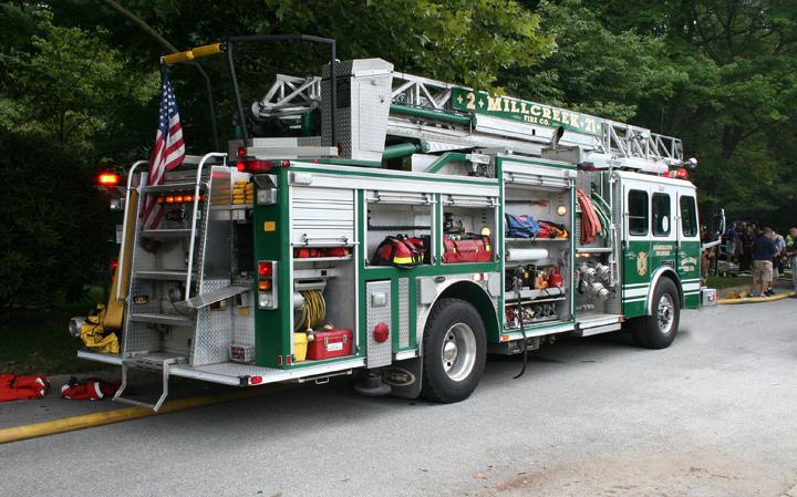 E One Mill Creek Volunteer Fire Company