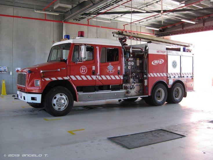 MFB - Pumper-Tanker 27, Melbourne Australia
