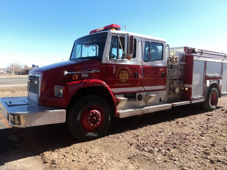 Freightliner pumper, Kayenta, Arizona, USA