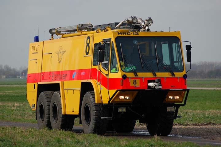 Rotterdam Airport MAC-12 crash tender