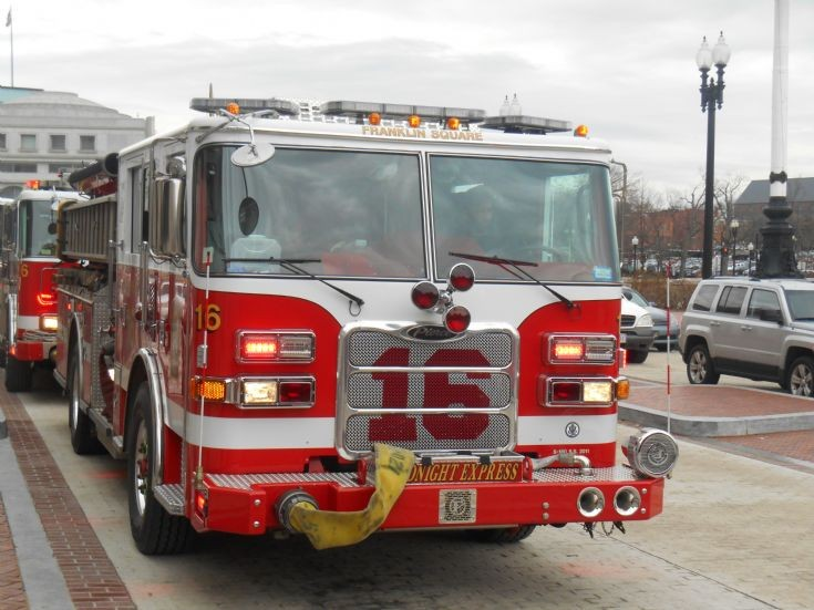 DCFD Engine 16 EMS Call