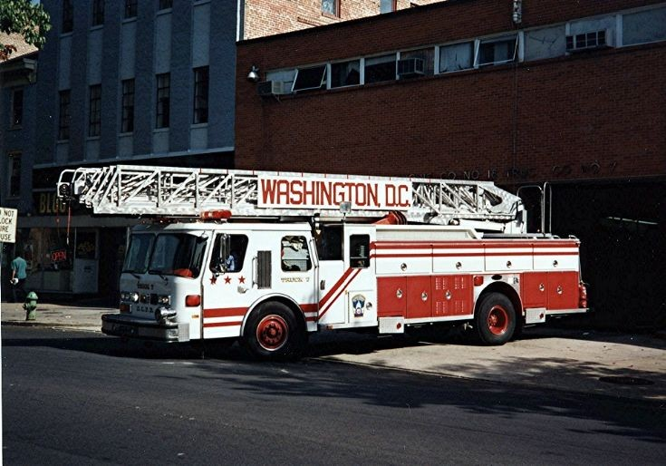 Wash. DCFD  1987 E1 Hurricane 110ft