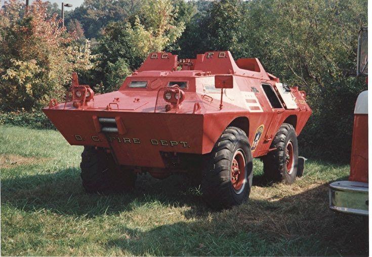 Washington,DC FD, 1969 APC Tactical unit