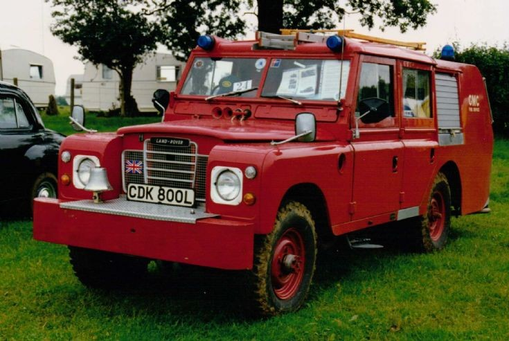 Landrover Series 3 LWB - Fire Appliance