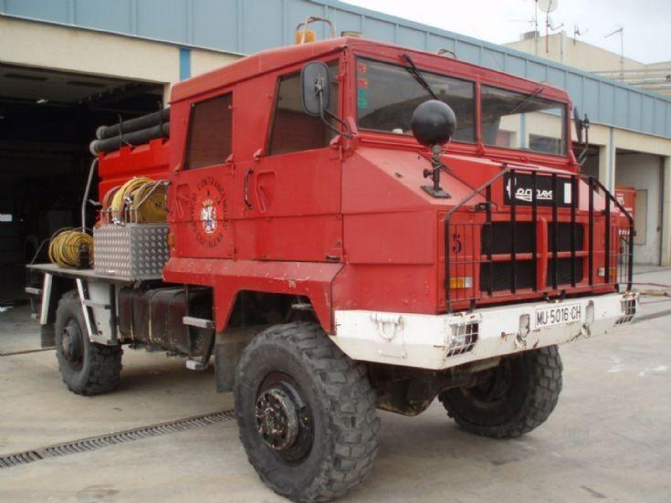 Forest fire truck Cartagena