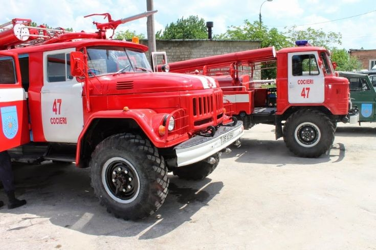Moldova Fire Engine