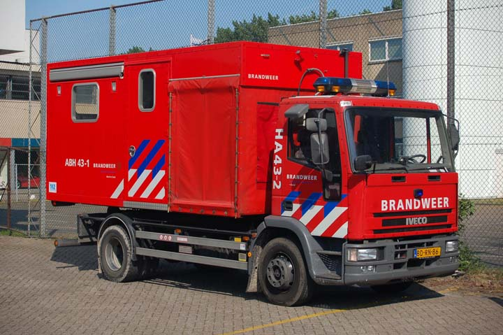 Brandweer Rotterdam Prime mover Iveco