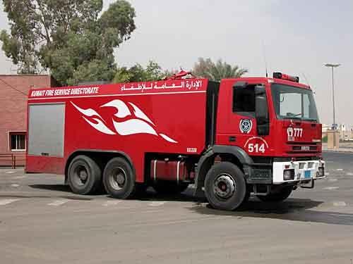 Kuwait Fire Engine