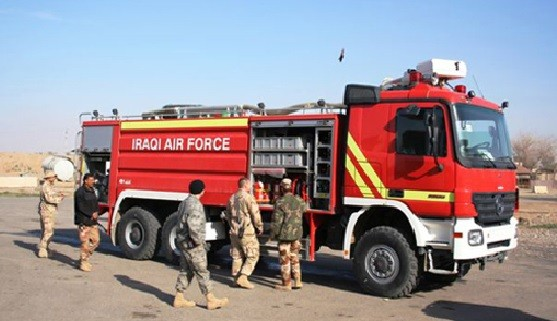 Iraq Fire Engine