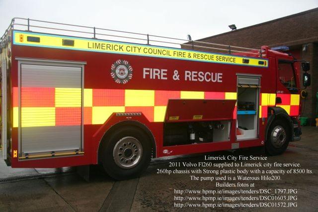 Limerick Fire Service Tanker